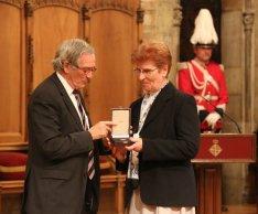 Entrega de la Medalla d´Or al Mèrit Cívíc de la Ciutat de Barcelona