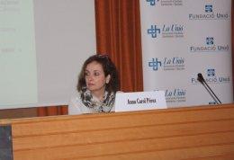 La doctora Anna Carol Pérez, a la II Jornada Tècnica de Col·laboració Publicoprivada de La Unió