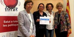 L'Hospital Sant Rafael rep el diploma d'adhesió al projecte Empresa Promotora de la Salut