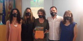 Presentació de la Guia de Marxa Nòrdica al Col·legi de Fisioterapeutes de Catalunya
