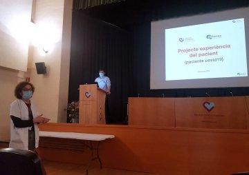 La Dra. Pérez va introduir la presentació dels resultats del projecte experiència del pacient
