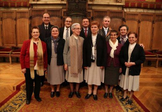 Acte d´entrega de la Medalla d´Or al Mèrit Cívíc de la Ciutat de Barcelona