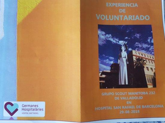 Visita scouts Valladolid
